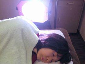 肩こり・首こりの治療:光線療法.JPG