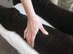 足の痛み・しびれの治療:経絡.JPG